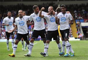 Tottenham en roue libre face à Wycombe