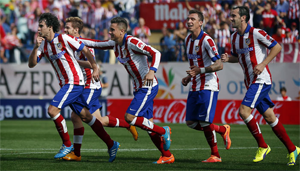 L'Atlético Madrid au sommet !
