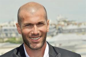 La première de Zinédine Zidane !