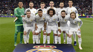 Le Real Madrid continue son chemin !