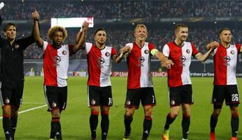 Feyenoord en 16è de finale !
