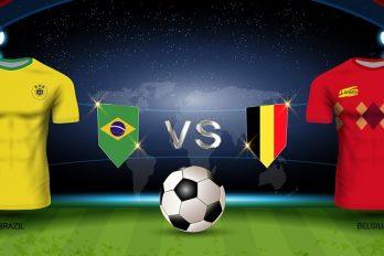 L'affiche-choc de Brésil-Belgique de ce vendredi soir