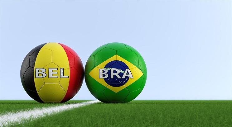 football belgique brésil